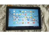 SAMSUNG GALAXY TAB 10. 1 GT-P7510 EXCELLENT CONDITION WITH CASE, WHITE!