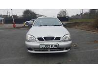 Daewoo lanos 1.4 2002 1 year MOT drives very well