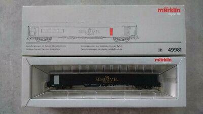 MÄRKLIN H0 49981 Ausstellungswagen Schimmel digital + Sound OVP (#545)