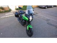 Mint condition, many extras, low mileage, kawasaki edition sat nav by tomtom and more..