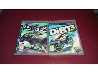 Dirt 2 and Dirt 3 PlayStation 3