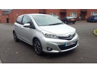 2012 62 REG NEW SHAPE TOYOTA YARIS 1.0 VVT-i EDITION 3 DOOR 33K GENUINE MILES 2 KEYS £30 TAX 1 OWNER