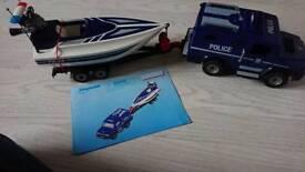 Playmobil Police rescue set