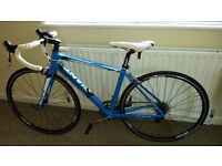 Giant Defy 1. Almost new. 2014 Blue/Black - Size Small.