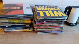 Massive bunch of vinyl, albums/singles