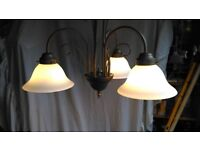 3 BRANCH LIGHT FITTING