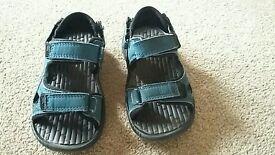 Blue Karrimor sandals, size 10