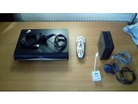Sky+HD Box, Sky Remote, Microfilter, Sky Hub Router and cabling