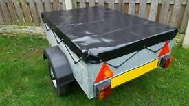 4ft x 3ft all galvanised refurbished trailer