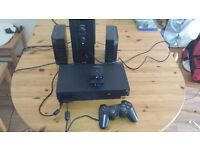 Sony PlayStation 2 Black Console (SCPH-50003) With Soundstation 2 & EYETOY CAM