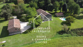 Stone farmhouse in the south of France