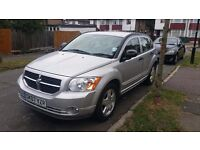 Dodge Caliber SXT , Silver, 1.8 Petrol , year 2007, 89500 miles, Full leather heated seats