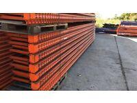 Redirack Heavy Duty Warehouse Pallet Racking Frames & Beams (Chelmsford Branch)