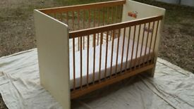 Traditional Cot and Mattress