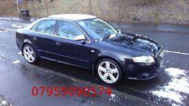 audi a4 s line 2.0 turbo diesel 2006 ,55 reg 140bhp