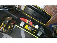 "Stanley 26"" hold all tool box"