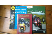 IAM. Advanced motorcycling police techniques. Roadcraft. Motorbike safety. DVD & two books.