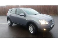 2008(58)NISSAN QASHQAI ACENTA 2.0 DCi 2WD MET GREY,NEW MOT,6 SPEED,NICE SPEC,CLEAN CAR,GREAT VALUE
