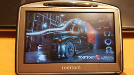 TomTom Truck HGV SatNav MINT CONDITION GPS, Latest UK & Full European 2017 Maps + Speedcams