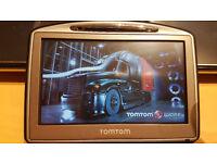 TomTom Truck HGV SatNav MINT CONDITION GPS, Latest UK & Full European 2017 Maps + Speedcams