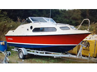 Shetland 570-Fishing-Leisure-Boat-75hp-Mercury-Outboard-Roller-Coaster-Trailer