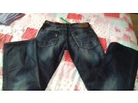 NEW WITH TAGS gents River Island Jeans