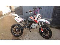 *LOOK* 50cc mini crosser px in mini motos pitbikes quads scooters swaps