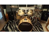 Mapex Drums with Meinl cymbals