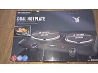 Dual Hotplate Silvercrest brand new