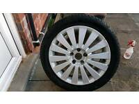 Volkswagen passat alloy wheel
