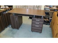 Three matching office desks available. Like new. Will sell separately