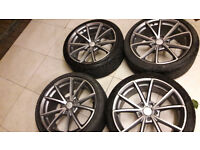 18 inch New style Audi Rs alloys, 5x112