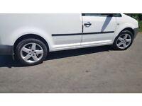 audi alloys Volkswagen vw seat 5x112 4 great tyres 16 17 18 19