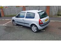 2004 renault clio 1.2 dynamique top spec long mot cheap insurance