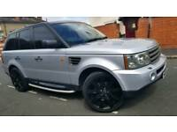 Land Rover Range Rover Sports 2006 Diesel Automatic HPI Clear full service history SatNav long MOT