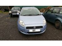 Fiat Grande Punto 2007 diesel, breaking for spares