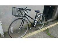 Womans town bike good running condition