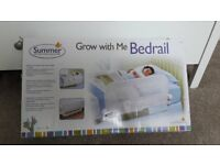 """""""SUMMER GROW WITH ME"""" WHITE SINGLE BEDRAIL/GUARD"""