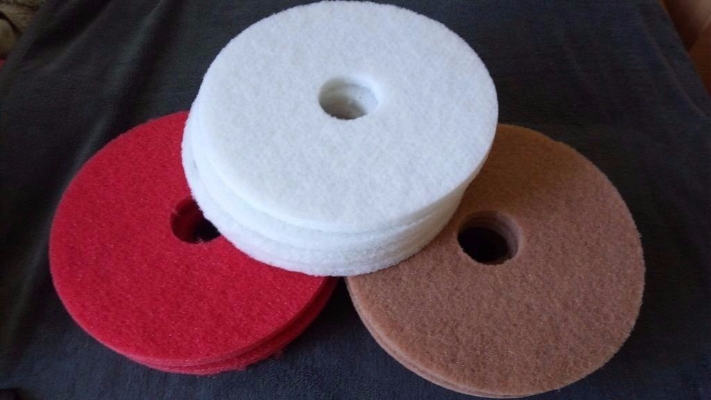 Floor Polisher and Burner - 15 Pads, Size 40 mm