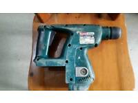 Makita 24 volt SDS drill