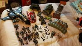 Army figures set