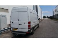 Mercedes Sprinter 311 CDI MWB, high roof, 2009, Manual