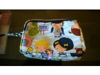 Three part make up bag