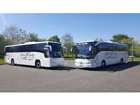 Affordable Luxury Executive Coach & Quality Mini-Coach Hire 22 to 70 seats, East Kilbride, Glasgow