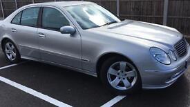 Mercedes e220 Cdi avantgarde auto diesel 2004 54 reg silver black leather