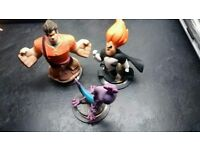 Disney infinity figures bundle wreck it ralph syndrome randall