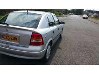 v astra 1.6 petrol twinport 5 doors full mot ready to go only ��650 ono
