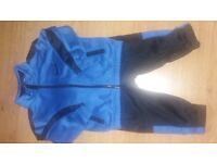 Baby boys blue and black nike tracksuit. 6-9months. Vgc