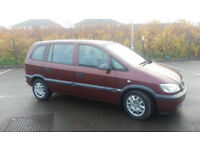 2004(04)VAUXHALL ZAFIRA 2.0 DTi LIFE MET RED,7 SEATER,CLEAN CAR,GREAT VALUE