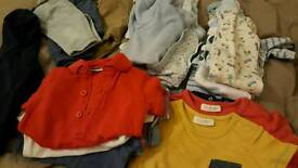 Baby boy clothes bundle. Upto 1 month
